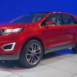 Ford Edge Concept – Technologie de pointe