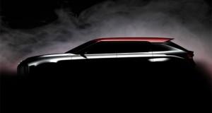 Mitsubishi Ground Tourer Concept, rendez-vous à Paris