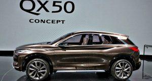 Infiniti QX50 concept à Détroit, la suite du Sport Inspiration