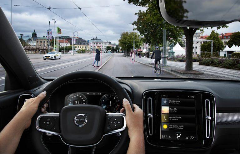 Techno : le système City Safety du Volvo XC40 2019