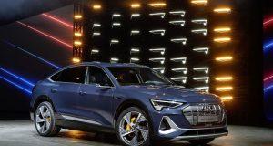 Audi e-tron Sportback est dynamique et électrique
