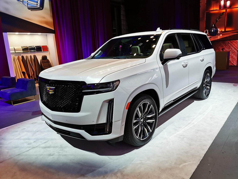 Cadillac Escalade 2021 a un écran de 38 pouces et un ...