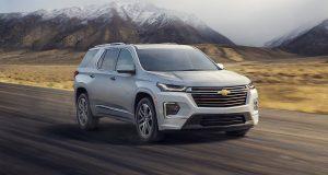 Le Chevrolet Traverse remanié pour 2021