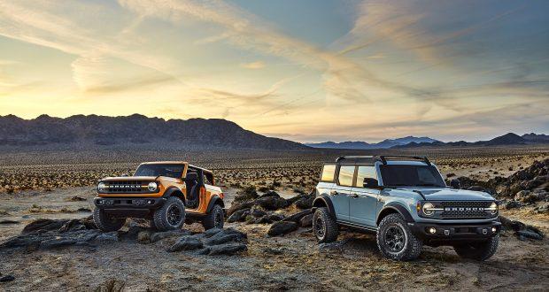 Dévoilement des modèles Ford Bronco 2021 à deux et quatre portes