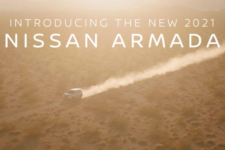 Le Nissan Armada 2021 sera dévoilé le 8 décembre